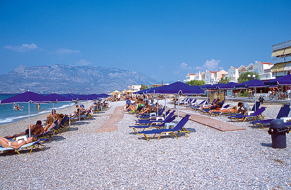 In Corinth